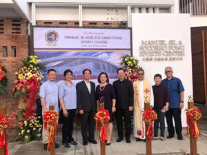 XSN Manuel Sr. and Socorro Fong Sports Center Inauguration