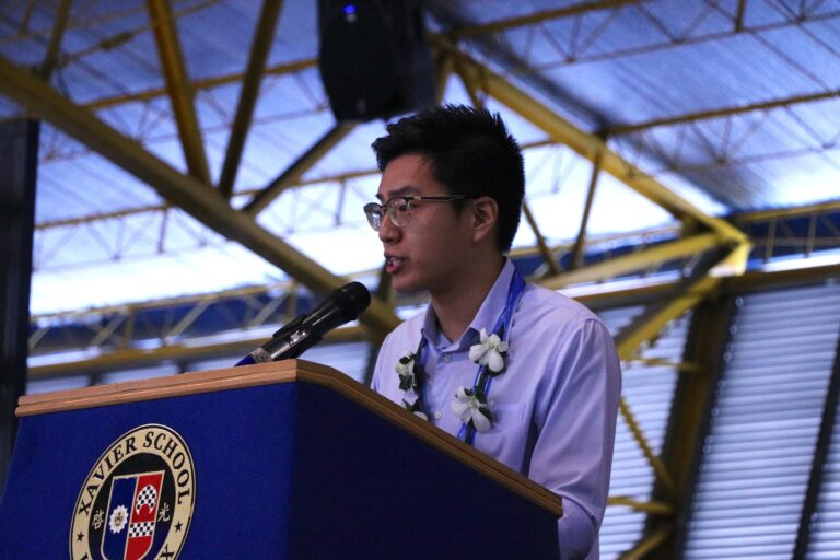 """Honor, Competence, and Compassion""—Ryan Yu (XS '11) Delivers Inspirational Speech at HS Reading of Honors 2019"