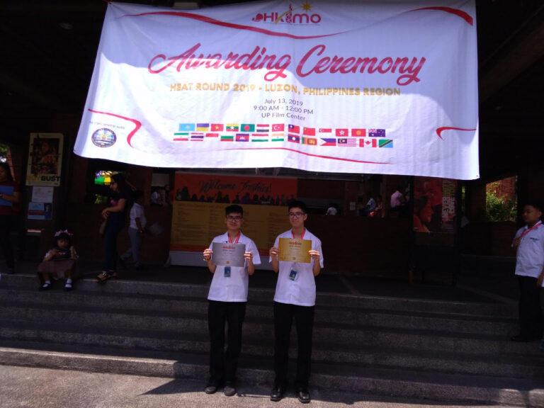 Xavier School Bags 7 Awards in the Hong Kong International Mathematical Olympiad 2019