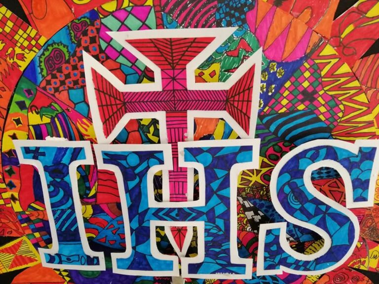 G7 Students Create Zentangle Artwork for the Feast of St. Ignatius
