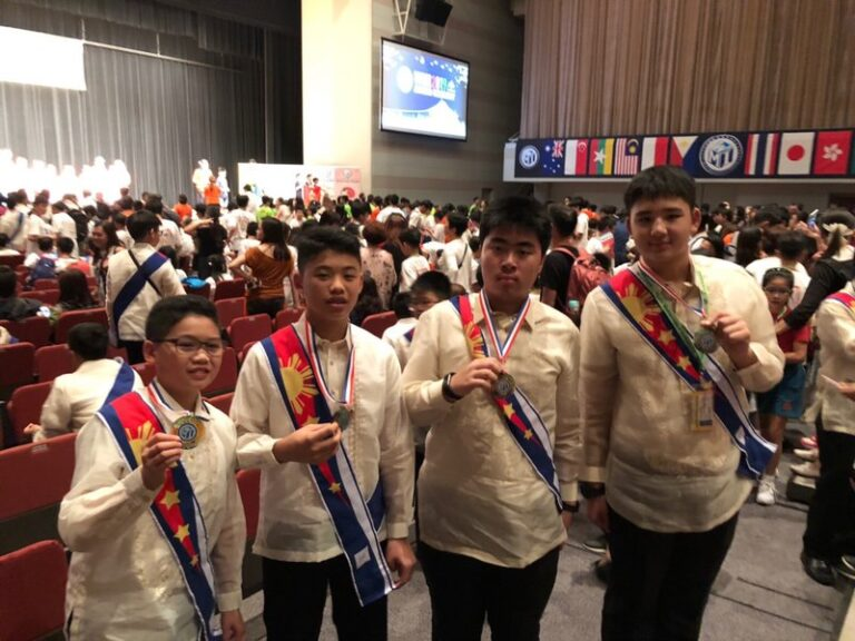 Xavier Students Take Home Gold and Bronze Medals from WMI, Fukuoka, Japan