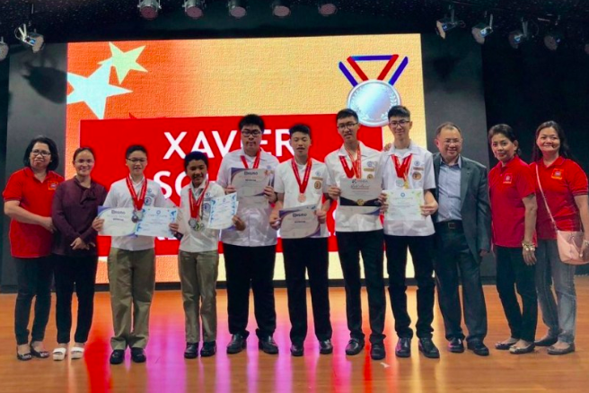 Xavier School Wins 8 Medals from SASMO