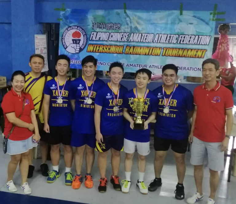 XS Shuttlers Champions in FCAAF Tournament