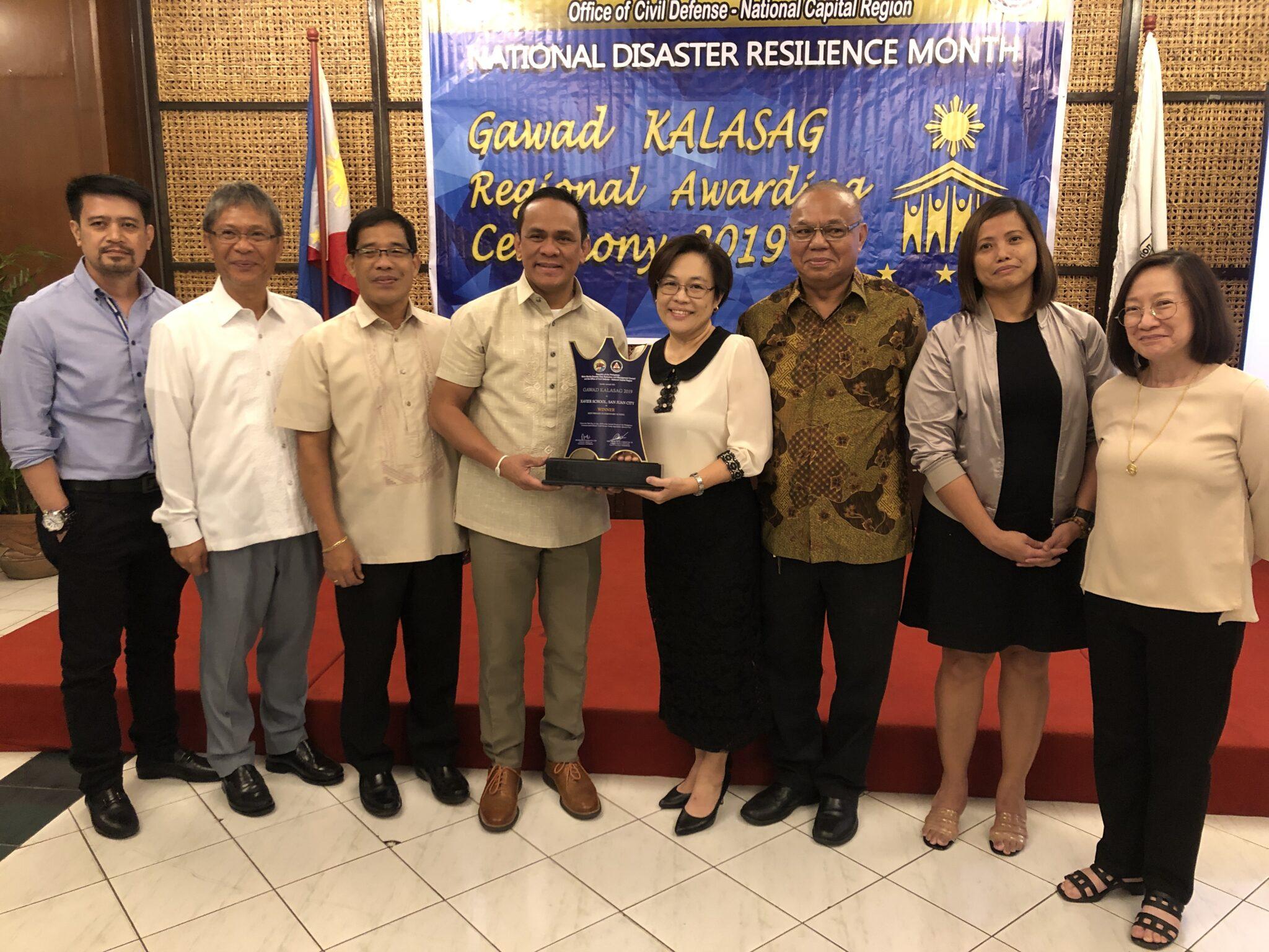 Xavier School Wins at Regional Gawad KALASAG For Two Consecutive Years