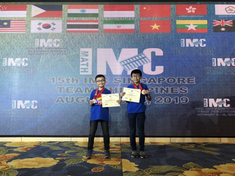 Young Xaverians Bag Medals at IMC Singapore 2019