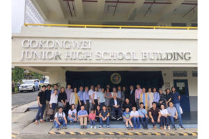 Rededication of the Gokongwei JHS Building