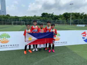 Young Xavier Athletes Help PH Place 3rd in 5th Futian Cup International Junior Football Tourney
