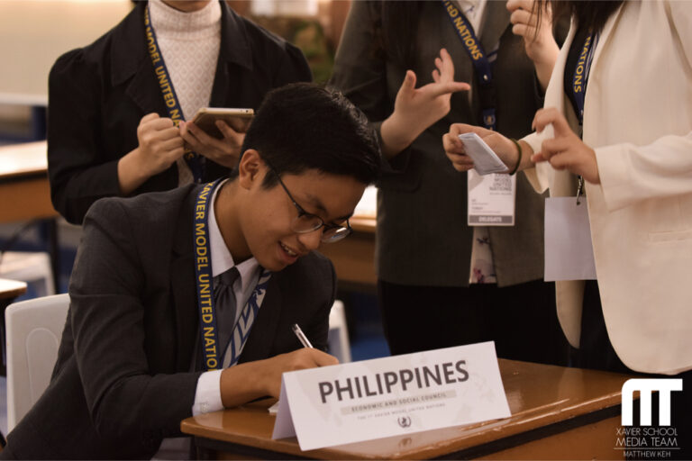 xsMUN Holds First-Ever Xavier Model United Nations Conference