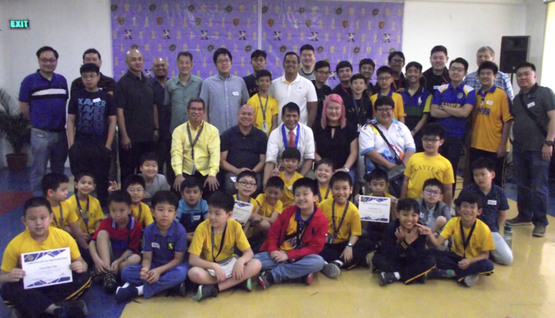 "Xavier School Hosts Chess Simul-Exhibition with Grandmaster Rogelio ""Joey"" Antonio, Jr."