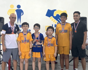 Xavier Paddlers Cap 2019 with Victories