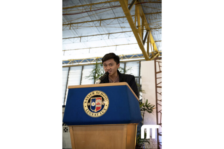 Keane Cedric Ting (XS '19) Delivers Speech at HS Gawad Uliran