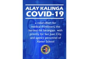 Xavier School Alay Kalinga Covid 2019