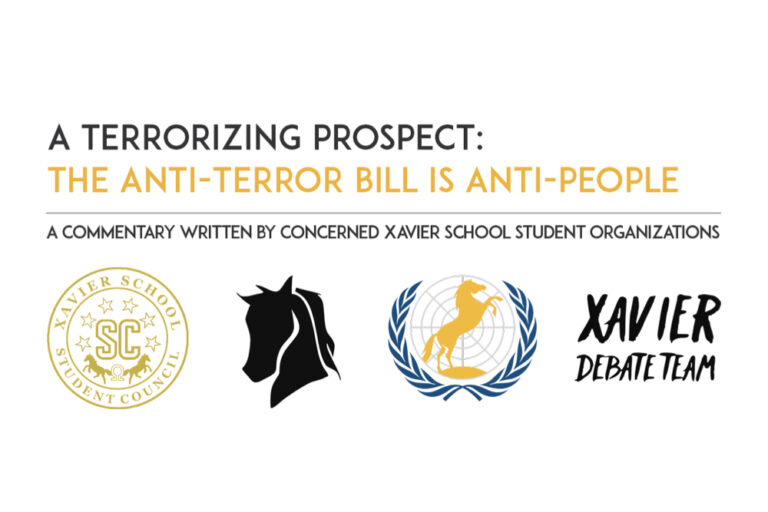 A terrorizing prospect: the anti-terror bill is anti-people
