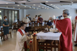 Final Vows of Fr. Ari Dy, SJ