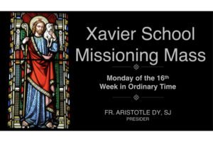 Missioning Mass Homily by Fr. Ari Dy, S.J.