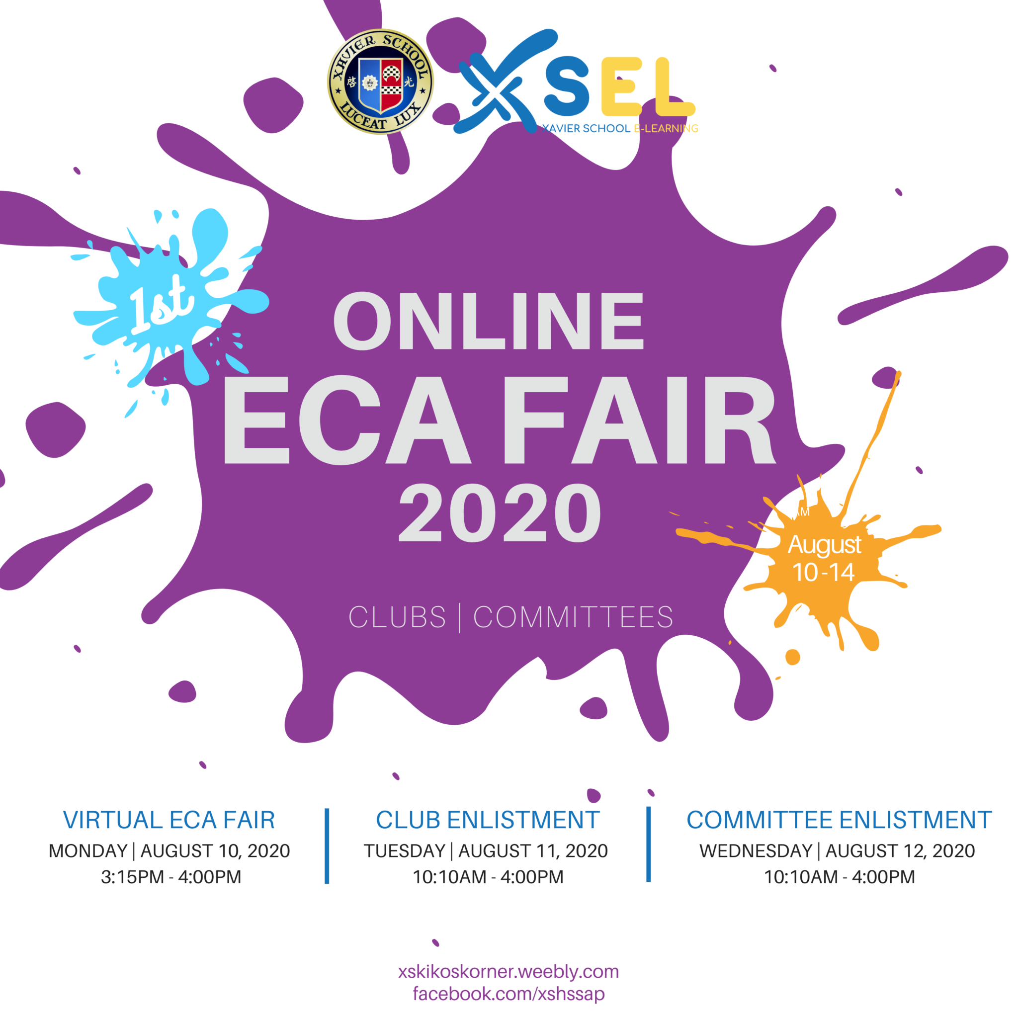 Xavier High School holds its first ever Virtual ECA Fair
