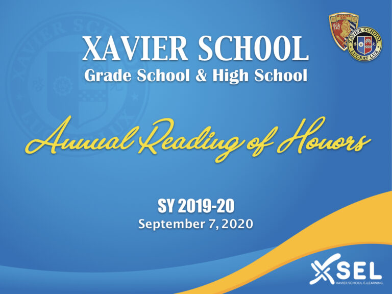 GS & HS Reading of Honors 2020.001