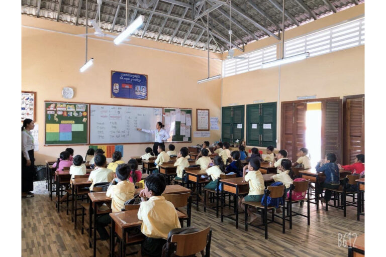 """I AM WHERE I SHOULD BE"":                               Xavier School sponsors English teacher for Jesuit school in Cambodia"