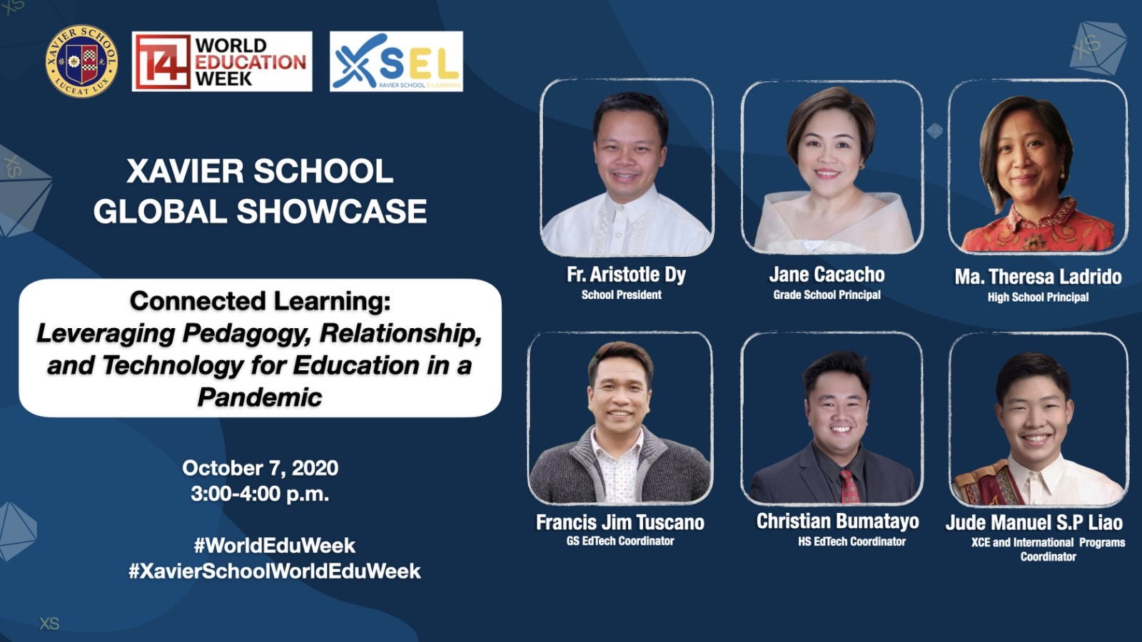 Connected Learning, Xavier School Showcases XSEL in World Education Week