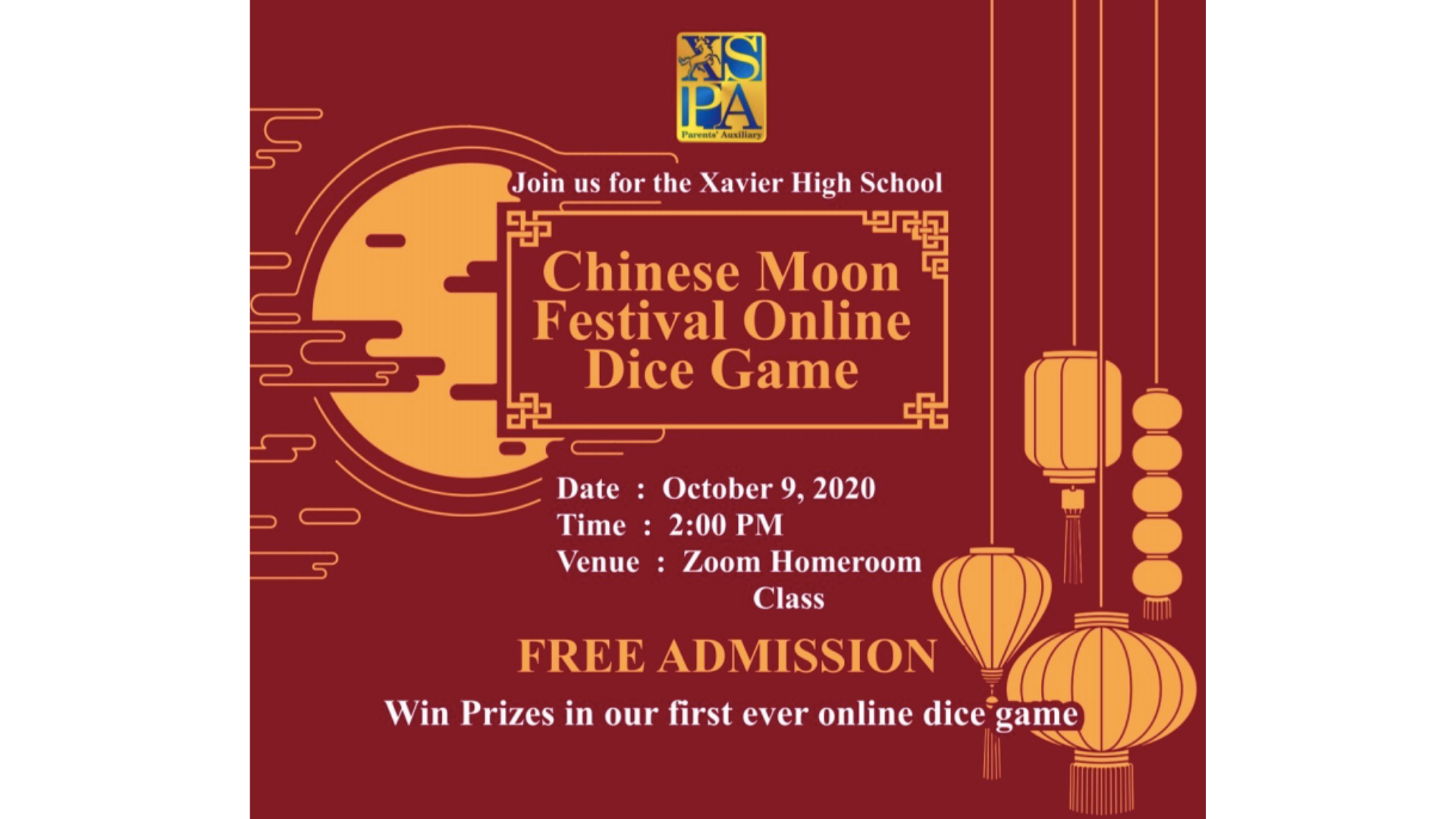You are currently viewing XSPA hosts not-so traditional Chinese Moon Festival Dice Games