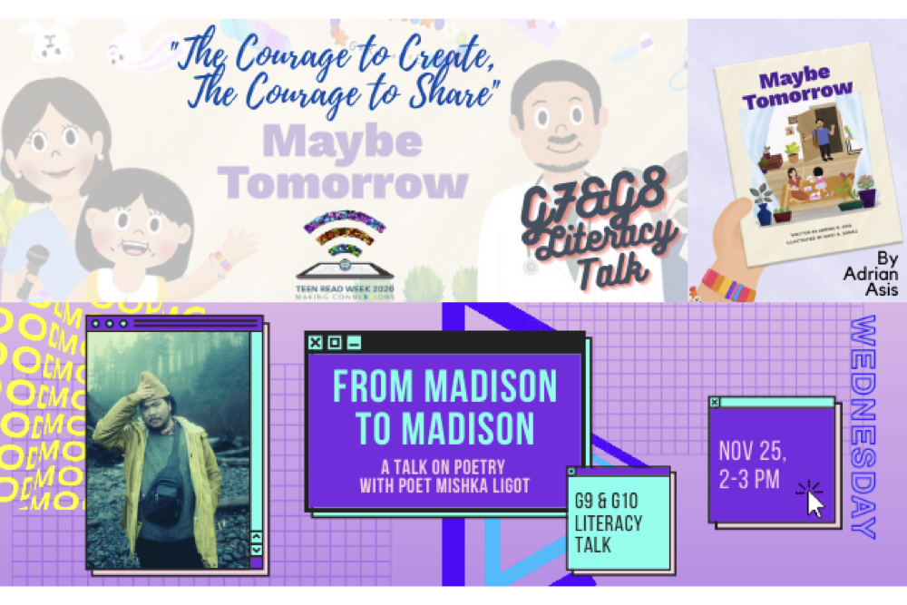 Making ConneXSions, the HS Online Literacy Talk Series
