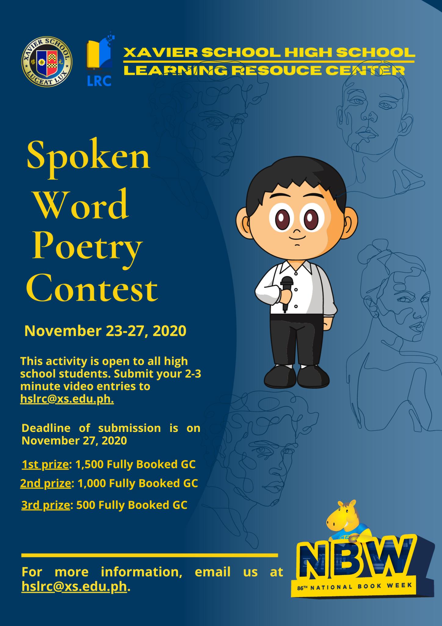 NBW 2020_Spoken Word Poetry