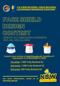 Extended Face Shield Design Contest