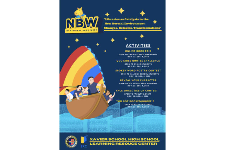 Read more about the article 86th National Book Week Celebration: Libraries as Catalysts in the New Normal