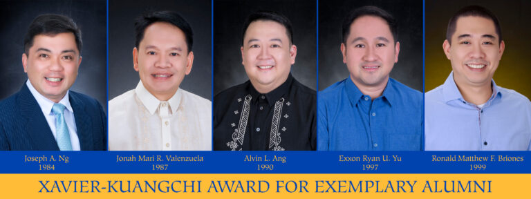 Xavier-Kuangchi Award for Exemplary Alumni 2020