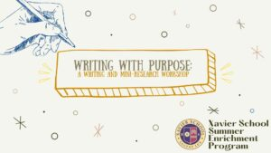 Read more about the article Writing with Purpose: A Writing and Mini-Research Workshop