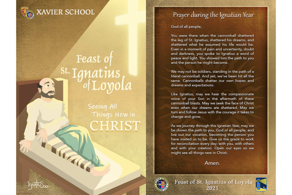 You are currently viewing To See All Things New in Christ, Feast of St. Ignatius of Loyola