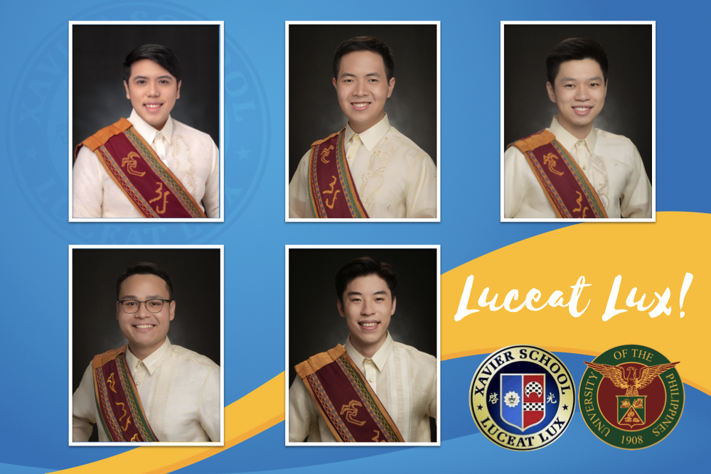 You are currently viewing XS Alumni Receive Highest Distinction in UP Grad 2021