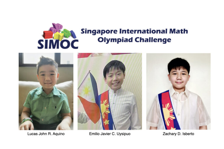 Read more about the article Young Xaverians Display Competence at the Singapore International Math Olympiad Challenge (SIMOC)